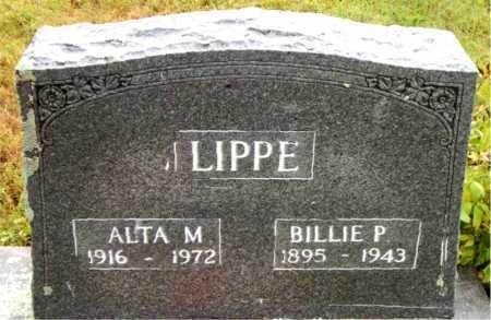 LIPPE, BILLIE  P - Boone County, Arkansas | BILLIE  P LIPPE - Arkansas Gravestone Photos