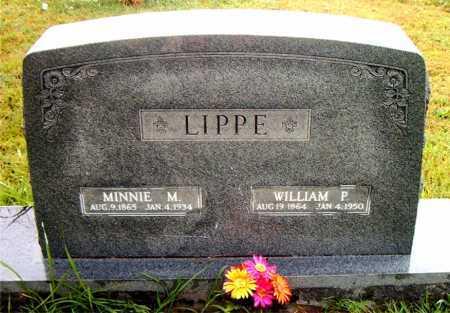 LIPPE, MINNIE M - Boone County, Arkansas | MINNIE M LIPPE - Arkansas Gravestone Photos