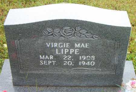LIPPE, VIRGIE MAE - Boone County, Arkansas   VIRGIE MAE LIPPE - Arkansas Gravestone Photos