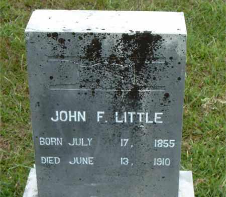 LITTLE, JOHN  F. - Boone County, Arkansas | JOHN  F. LITTLE - Arkansas Gravestone Photos