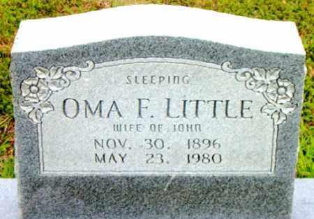 LITTLE, OMA F. - Boone County, Arkansas   OMA F. LITTLE - Arkansas Gravestone Photos