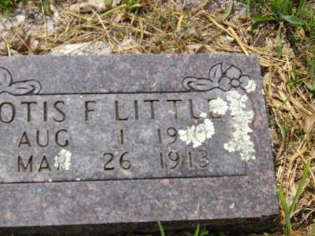 LITTLE, OTIS F. - Boone County, Arkansas | OTIS F. LITTLE - Arkansas Gravestone Photos