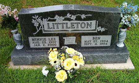 LITTLETON, BEN - Boone County, Arkansas | BEN LITTLETON - Arkansas Gravestone Photos