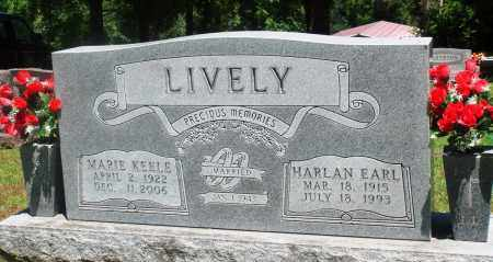 LIVELY, HARLAN EARL - Boone County, Arkansas | HARLAN EARL LIVELY - Arkansas Gravestone Photos
