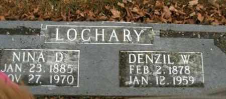 LOCHARY, DENZIL W. - Boone County, Arkansas | DENZIL W. LOCHARY - Arkansas Gravestone Photos