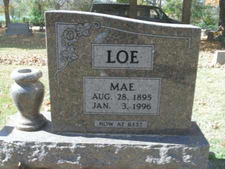 LOE, ALICE MAE - Boone County, Arkansas | ALICE MAE LOE - Arkansas Gravestone Photos
