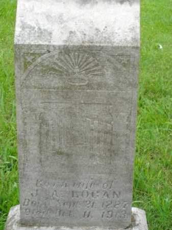 LOGAN, CORA - Boone County, Arkansas   CORA LOGAN - Arkansas Gravestone Photos