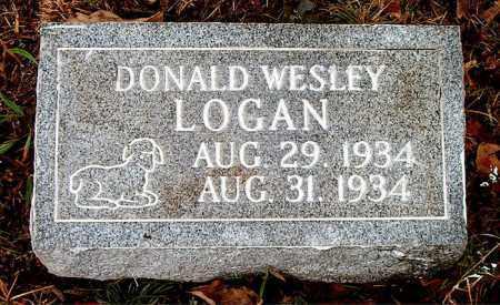 LOGAN, DONALD WESLEY - Boone County, Arkansas   DONALD WESLEY LOGAN - Arkansas Gravestone Photos