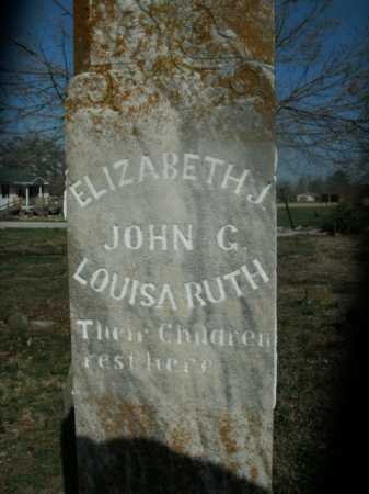 LOGAN, LOUISA RUTH - Boone County, Arkansas   LOUISA RUTH LOGAN - Arkansas Gravestone Photos