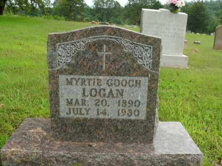 LOGAN, MYRTIE - Boone County, Arkansas   MYRTIE LOGAN - Arkansas Gravestone Photos