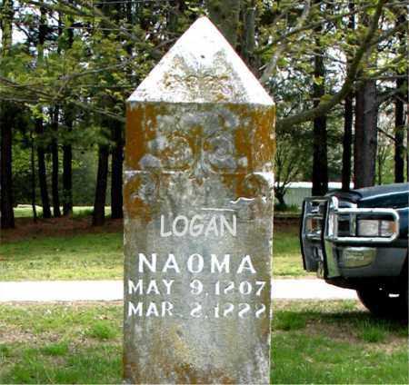 LOGAN, NAOMA - Boone County, Arkansas   NAOMA LOGAN - Arkansas Gravestone Photos