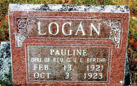LOGAN, PAULINE - Boone County, Arkansas   PAULINE LOGAN - Arkansas Gravestone Photos