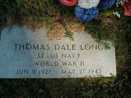 LONG  (VETERAN WWII), THOMAS DALE - Boone County, Arkansas | THOMAS DALE LONG  (VETERAN WWII) - Arkansas Gravestone Photos
