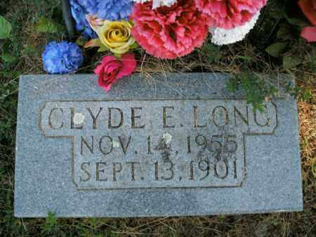 LONG, CLYDE E. - Boone County, Arkansas | CLYDE E. LONG - Arkansas Gravestone Photos
