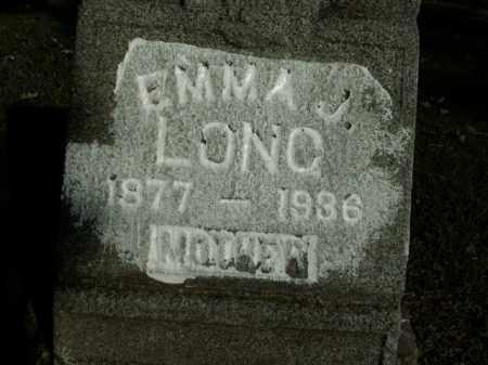 LONG, EMMA J. - Boone County, Arkansas | EMMA J. LONG - Arkansas Gravestone Photos