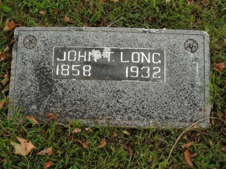 LONG, JOHN T. - Boone County, Arkansas   JOHN T. LONG - Arkansas Gravestone Photos