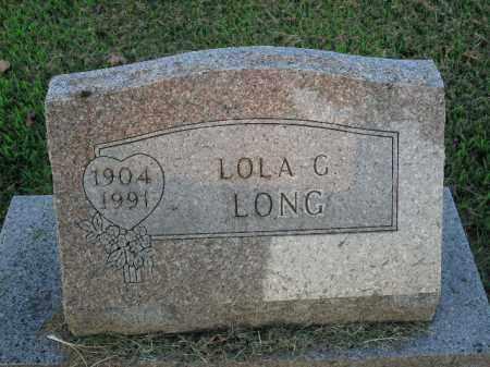 LONG, LOLA G. - Boone County, Arkansas | LOLA G. LONG - Arkansas Gravestone Photos