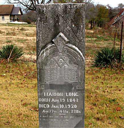 LONG, MARION - Boone County, Arkansas | MARION LONG - Arkansas Gravestone Photos