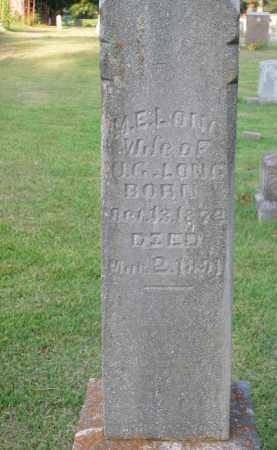 LONG, M.E. - Boone County, Arkansas | M.E. LONG - Arkansas Gravestone Photos