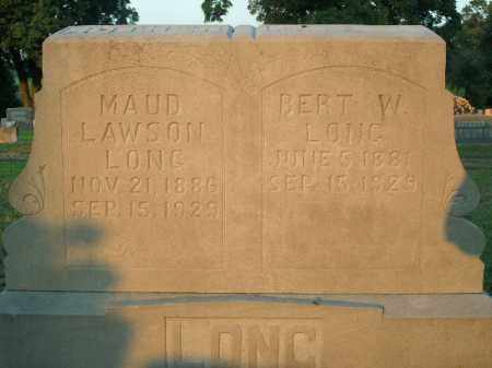 LONG, MAUD - Boone County, Arkansas | MAUD LONG - Arkansas Gravestone Photos