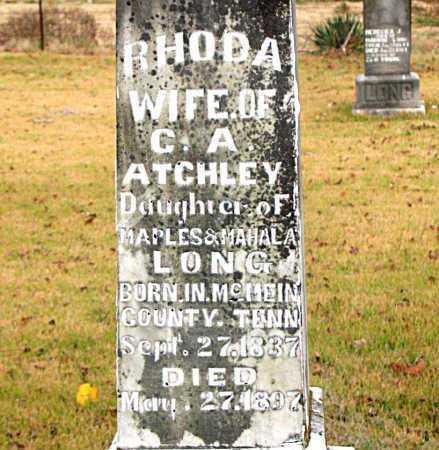 LONG, RHODA - Boone County, Arkansas | RHODA LONG - Arkansas Gravestone Photos