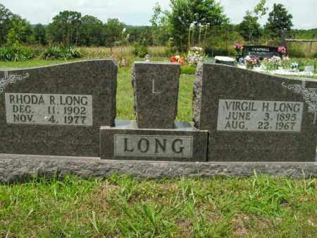 LONG, VIRGIL H. - Boone County, Arkansas | VIRGIL H. LONG - Arkansas Gravestone Photos