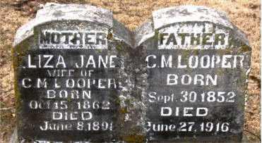 LOOPER, LIZA JANE - Boone County, Arkansas | LIZA JANE LOOPER - Arkansas Gravestone Photos