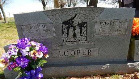 LOOPER, EVERETT  WOODROW - Boone County, Arkansas | EVERETT  WOODROW LOOPER - Arkansas Gravestone Photos