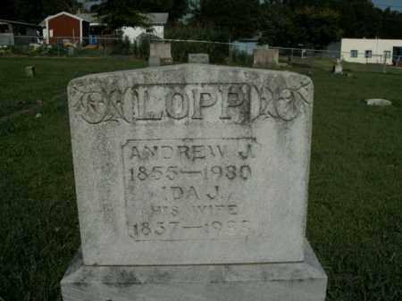 LOPP, IDA J. - Boone County, Arkansas | IDA J. LOPP - Arkansas Gravestone Photos