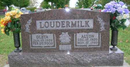 LOUDERMILK, ALTON RAE - Boone County, Arkansas | ALTON RAE LOUDERMILK - Arkansas Gravestone Photos