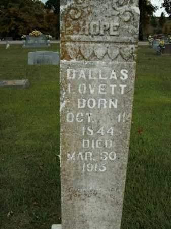 LOVETT, DALLAS - Boone County, Arkansas | DALLAS LOVETT - Arkansas Gravestone Photos