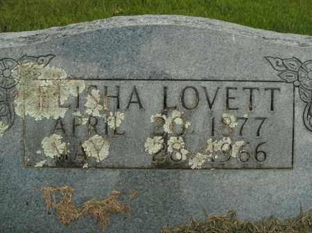 LOVETT, ELISHA - Boone County, Arkansas | ELISHA LOVETT - Arkansas Gravestone Photos