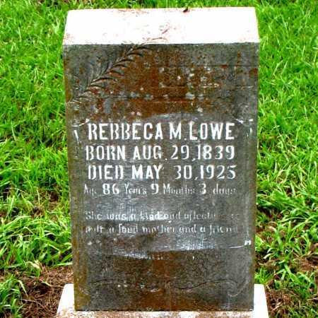 LOWE, REBBECA M. - Boone County, Arkansas | REBBECA M. LOWE - Arkansas Gravestone Photos
