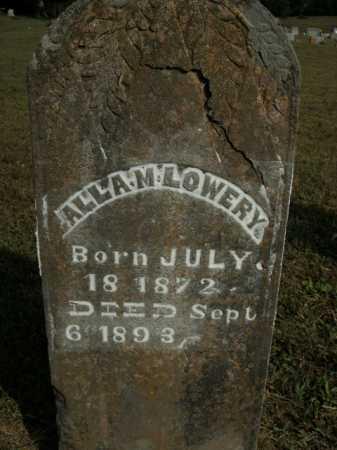 LOWERY, ALLA M. - Boone County, Arkansas | ALLA M. LOWERY - Arkansas Gravestone Photos