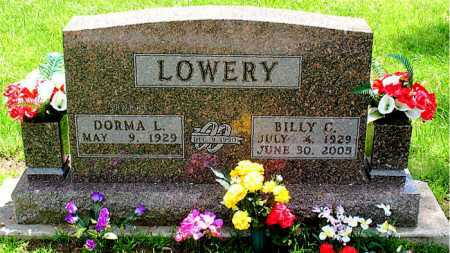 LOWERY, BILLY C. - Boone County, Arkansas | BILLY C. LOWERY - Arkansas Gravestone Photos