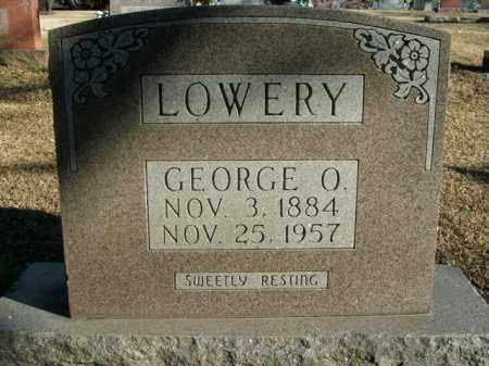 LOWERY, GEORGE O. - Boone County, Arkansas | GEORGE O. LOWERY - Arkansas Gravestone Photos