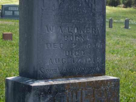 LOWERY  (VETERAN CSA), WILLIAM ANDERSON - Boone County, Arkansas   WILLIAM ANDERSON LOWERY  (VETERAN CSA) - Arkansas Gravestone Photos