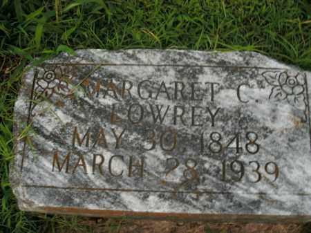 LOWREY, MARGARET C. - Boone County, Arkansas | MARGARET C. LOWREY - Arkansas Gravestone Photos