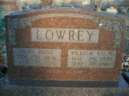 LOWREY, WILLIAM RALPH - Boone County, Arkansas | WILLIAM RALPH LOWREY - Arkansas Gravestone Photos