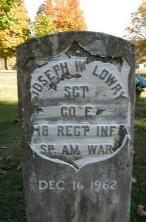 LOWRY  (VETERAN SAW), JOSEPH WILLIAM - Boone County, Arkansas   JOSEPH WILLIAM LOWRY  (VETERAN SAW) - Arkansas Gravestone Photos