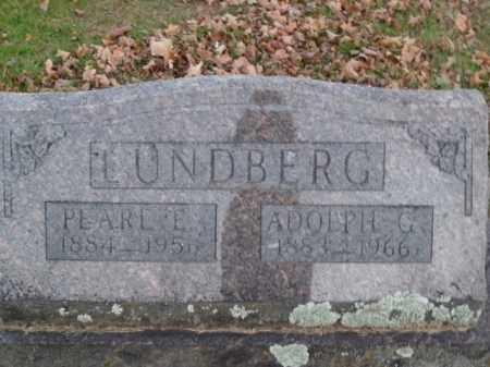 LUNDBERG, PEARL E. - Boone County, Arkansas   PEARL E. LUNDBERG - Arkansas Gravestone Photos
