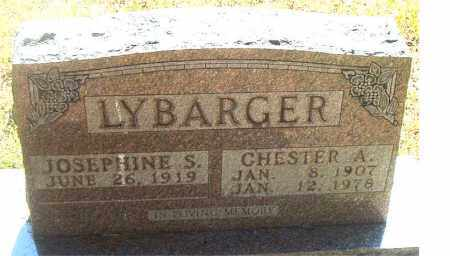 LYBARGER, CHESTER A. - Boone County, Arkansas | CHESTER A. LYBARGER - Arkansas Gravestone Photos
