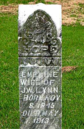 LYNN, EMELINE - Boone County, Arkansas | EMELINE LYNN - Arkansas Gravestone Photos