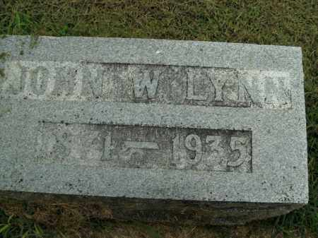 LYNN, JOHN W. - Boone County, Arkansas | JOHN W. LYNN - Arkansas Gravestone Photos