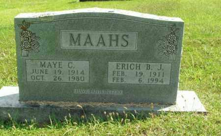 MAAHS, MAYE C. - Boone County, Arkansas | MAYE C. MAAHS - Arkansas Gravestone Photos