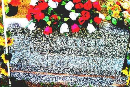 MABEE, FLORA - Boone County, Arkansas | FLORA MABEE - Arkansas Gravestone Photos