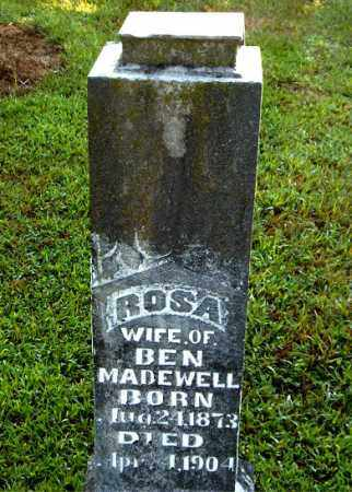 MADEWELL, ROSA - Boone County, Arkansas | ROSA MADEWELL - Arkansas Gravestone Photos