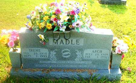 MADLE, IRENE - Boone County, Arkansas | IRENE MADLE - Arkansas Gravestone Photos