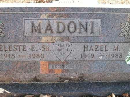 MADONI, HAZEL M. - Boone County, Arkansas | HAZEL M. MADONI - Arkansas Gravestone Photos