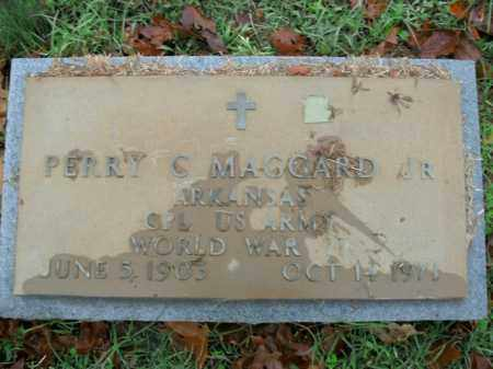 MAGGARD, JR  (VETERAN WWII), PERRY CLINT - Boone County, Arkansas | PERRY CLINT MAGGARD, JR  (VETERAN WWII) - Arkansas Gravestone Photos
